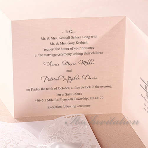 How To Address Wedding Invitations Without Inner Envelope for amazing invitation template